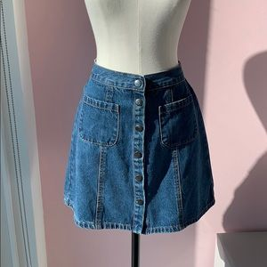 Urban Outfitters Denim Skirt - Size Small